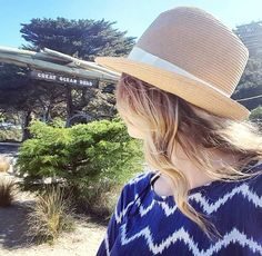 One more impression from the Great Ocean Road.. #greatoceanroad #gor #Victoria #australia #travel #startingpoint #girlwithhat #letthejourneybegin #adventureisoutthere #oz #exploremore #passionpassport by stefanie_lionne