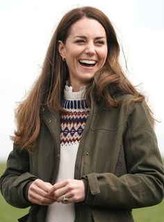 The Duke and Duchess of Cambridge Visit County Durham — Royal Portraits Gallery Kate Middleton Prince William, Prince William And Kate, William Kate, Duchess Kate, Duke And Duchess, Duchess Of Cambridge, Middleton Family, Kate Middleton Style, Kate Middleton Interview