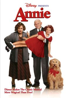 Annie Poster for the TV musical. Stars Alicia Morton as Annie, Kathy Bates as Miss Hannigan, Victor Garber as Daddy Warbucks, Audra McDonald as Grace Farrell, and Kristin Chenoweth as Lily St. All Movies, Family Movies, Great Movies, Disney Movies, Awesome Movies, Watch Movies, Comedy Movies, Drama Movies, Movies Online