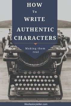 Writing authentic characters is an extremely important part of developing your novel and telling the story to the reader. It doesn't matter what genre y...