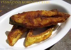 Vysmazana korenena ryba / Fried spicy pomfret