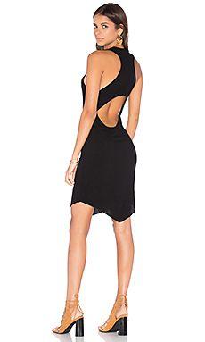 LNA Vincent Dress in Black