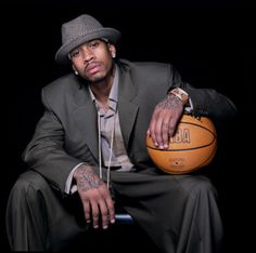 Allen Iverson. ..The Answer...to my prayers ;)