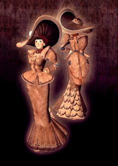 Clockwork Edwardian Dress and Hat #secondlife