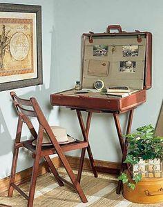 valija antigua fotos familiares decoración - Buscar con Google