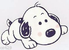 Q: What's cuter than Snoopy? A: Baby Snoopy Baby Snoopy, Snoopy Love, Snoopy And Woodstock, Anna Y Kristoff, Anna Y Elsa, Peanuts Cartoon, Peanuts Snoopy, Winnie Poo, Charlie Brown Y Snoopy