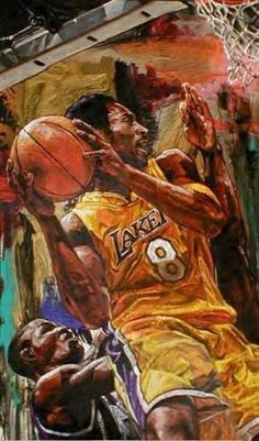 "Limited Edition Print ""Kobe Bryant"" by Stephen Holland"