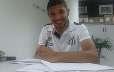 """Santos contrata irmão gêmeo de Yuri para time B: """"Uma felicidade imensa""""  http://santosfutebolarte.omb10.com/SantosFutebolArte/placar-de-palmeiras-x-santos"""