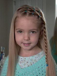 Girls Hair Ideas: Cute braided hair style for long hair