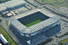 Derby County FC Pride Park Stadium Capacity: 33.597