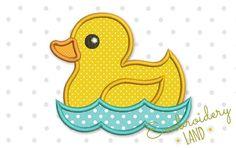 Duck Applique AN036