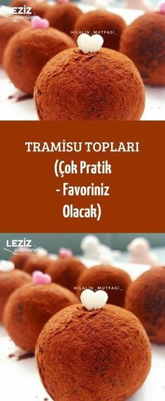 Tramisu Topları (Çok Pratik - Favoriniz Olacak) France is an independent nation in Western Europe and the biggest market of a large overseas administration Delicious Cake Recipes, Yummy Cakes, Yummy Food, Tasty, Köstliche Desserts, Dessert Recipes, Mousse Au Chocolat Torte, Pasta Cake, Recipe Mix