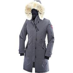 So warm - new winter coat - Canada Goose Kensington Parka (Women's) - Mid Grey