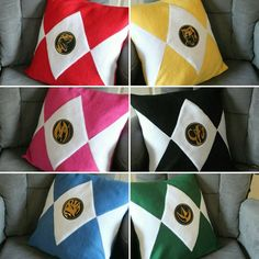 Your place to buy and sell all things handmade Power Rangers Dino, Mighty Morphin Power Rangers, Original Power Rangers, Baby Cosplay, Pillow Slip Covers, Fire Emblem Awakening, Pillow Forms, Lego City, Custom Items