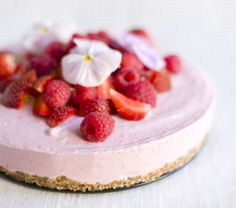 frozen strawberry cheese cake
