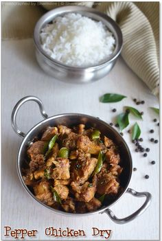 Pepper Chicken is one of the easiest chicken recipes I've learnt recently.I've slowly started to cook nonveg dishes especially chicken. I ...