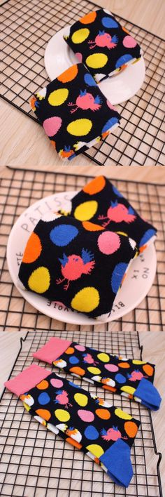 PEONFLY 2017 product Man funny Socks men Full Cotton Birdie Eggs Limit Trend Socks