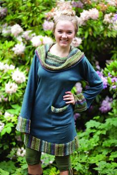 Jayli Imports, Inc. - Cotton hooded\cowl neck short dress with front pocket, $52.00 (http://www.jayli.com/cotton-hooded-cowl-neck-short-dress-with-front-pocket/)