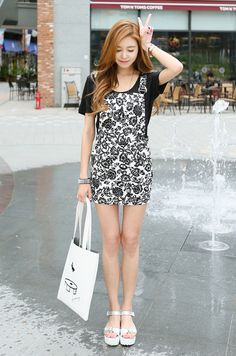 #dress #one-piece #cute #photo #pretty #k-pop #korean fashion #fashion #style #judbibian #주드비비안 #여성의류#이쁜옷
