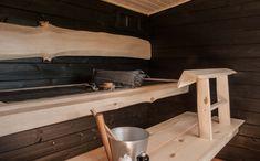 Saunas, Tiny House, Sauna Ideas, Shelves, Storage, Villa, Cabin, Homes, Furniture