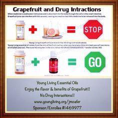 .grapefruit and medication