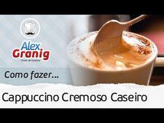 O Chef Alex Granig ensina como fazer cappuccino caseiro econômico e o melhor, muito fácil de fazer! Veja o passo a passo completo. Siga-me: Facebook: https:/...