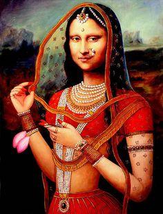 The Indian Mona Lisa