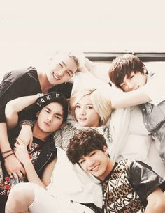 Nu'Est ^_^ Sigh, Ren the most pretty boy to have existed.