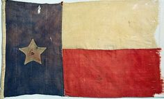 inch Canvas Print (other products available) - TEXAS FLAG, flag seized from Texan prisoners during a Mexican raid on San Antonio and a subsequent battle at Mier, Mexico, - Image supplied by Granger Art on Demand - Box Canvas Print made in the USA Framed Prints, Canvas Prints, Art Prints, Texas Revolution, Texas Pride, Texas Flags, Lone Star State, Mesoamerican, Texas History