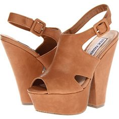 We just love these high-suede platforms!