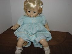 """VINTAGE MADAME ALEXANDER 18"""" JANIE DOLL BLOND ORIGINAL TAGGED OUTFIT #DollswithClothingAccessories"""