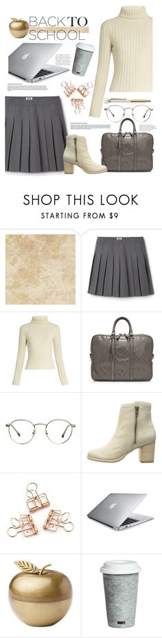 """Untitled #457"" by riuk ❤ liked on Polyvore featuring Ryan Roche, Gucci, Frye, Kate Spade and Fitz & Floyd"