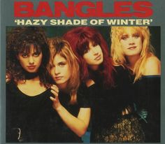 "Single ""Hazy Shade Of Winter"" 1987"