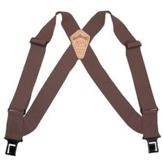 Unlike clip-on suspenders, Perry Suspenders won't come off until you take them off! Perry Suspenders easily hook under the belt. Perry Suspenders will not damage your pants, belt, furniture or car seat. Loosen your belt and relax in comfort with Perry Suspenders. Made of durable, high quality materials, Perry Suspenders are built to last.