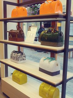 Save up to on a great range of designer brands at McArthurGlen Designer Outlet Roermond. Furla Bag, Cute Candy, Candy Bags, Candy Shop, You Are The Father, Purses And Bags, Fashion Ideas, Branding Design, Tights
