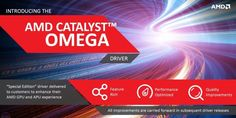Introducing the new AMD Catalyst Omega Driver - AMD is releasing a new driver called the AMD Catalyst Omega.  This new driver contains many new features that AMD will update on a yearly basis.  We'll go over what this year's