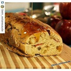 Pão Fit de Aveia e Maçã. #Repost @bem_estaresaude with @repostapp ・・・. Ingredientes: Etapa 1: ✅1/2xícara (chá) de aveia ✅3 colheres (sopa) de mel ✅30g de manteiga ghee ✅pitada de sal ✅1 ovo ✅15g de fermento biológico fresco ✅3/4 xícara (chá) de água ⠀⠀⠀⠀⠀⠀⠀⠀ ✅Aproximadamente 2xícaras e 1/2 (chá) de farinha de arroz ou de trigo ✅1 xícara (chá) de açúcar demerara  Etapa 2: ✅3 maças descascadas picadas em cubos pequenos ✅1 colher (chá) de canela em pó ✅1 xícara (chá) de uva passa  suco de…