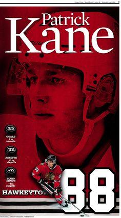 Patrick Kane, Chicago Blackhawks #88