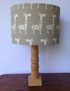 Hey, I found this really awesome Etsy listing at https://www.etsy.com/listing/202625638/medium-giraffe-drum-lamp-shade