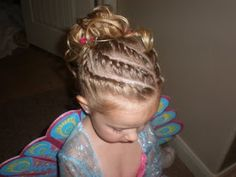 Girl Hairdos & Ideas: time for another FANCY NANCY party