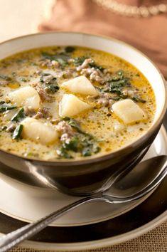 Delicious Instant Pot Zuppa Toscana