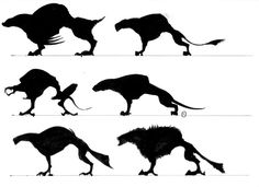 Image result for how to design creature silhouettes