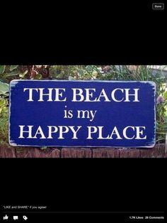 Beach = Happy Place