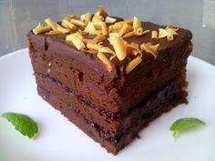 Malinowo w kuchni: Mazurek czekoladowy