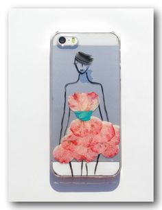 Real flower phone case, iphone 5/5S, Pressed flower phone case (101)