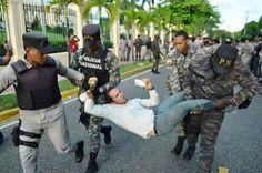 Policía sancionará agentes por excesos en protesta contra la OISOE