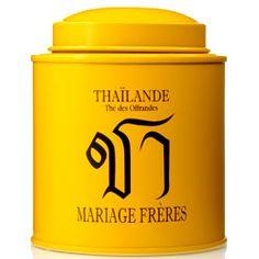 thailand mariage freres tin - Boite A The Mariage Freres