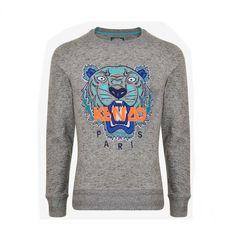 4949826d652 Kenzo Tiger Grey Sweater - Tradesy Kenzo