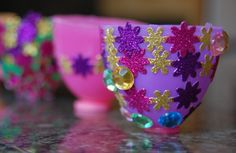 Plastic egg tea cups-- I don't think Bella is big enough for this yet, but it's adorable!  :o)