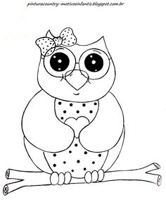 Cute Owl coloring page from Owls category Select from 20946